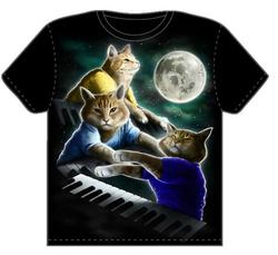 t-shirt du keyboard cat