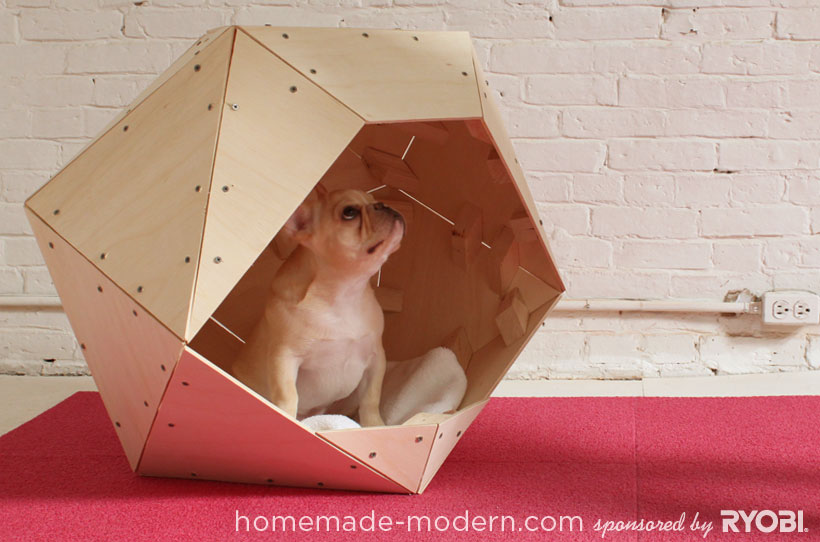 Fabriquer Niche Chat Bois : Homemade Dog House